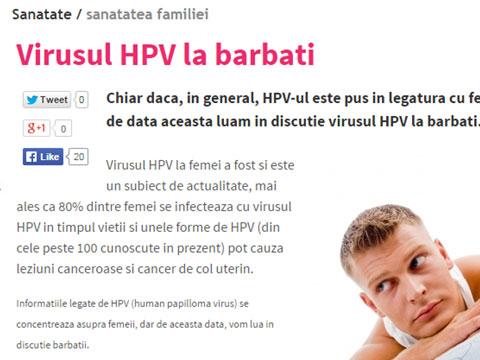hpv cancer barbati)