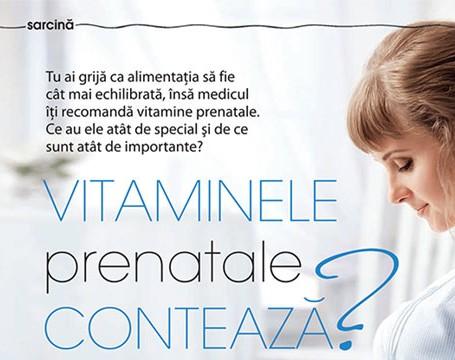 Vitaminele prenatale conteaza?