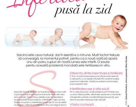 Infertilitatea, pusă la zid